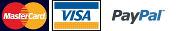 Visa, MC, PayPal